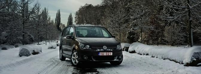 Rijtest Volkswagen Touran TdI 1.6 Bluemotion