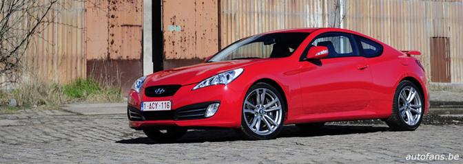 Rijtest: Hyundai Genesis Coupé 2.0 T