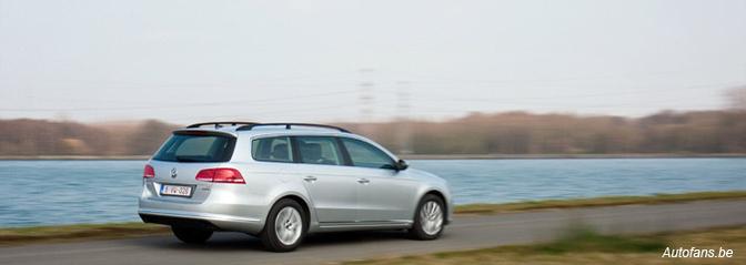 Rijtest: Volkswagen Passat Variant 1.6 TDI (2010)