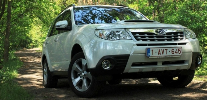 Rijtest: Subaru Forester 2.0D (MY2011)