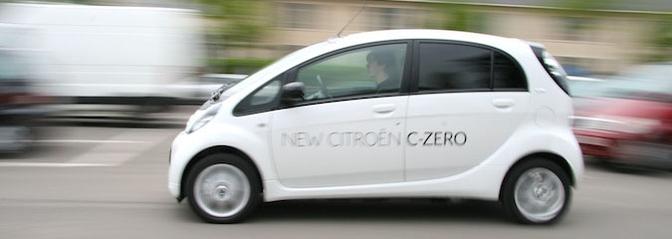 Rijtest: Citroën C-Zero
