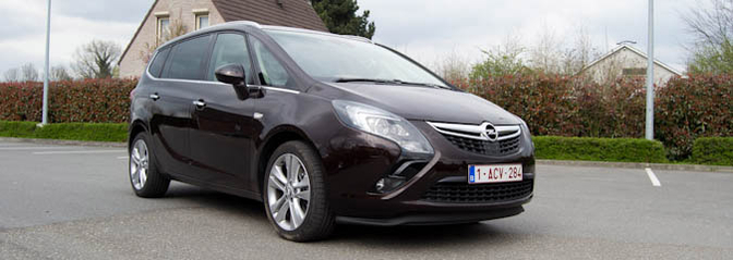 Rijtest: Opel Zafira Tourer 2.0 CDTi