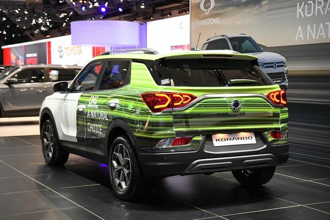 SsangYong Korando CNG Autosalon Brussel