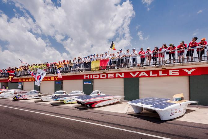 Punch Powertrain Solar Team 2015