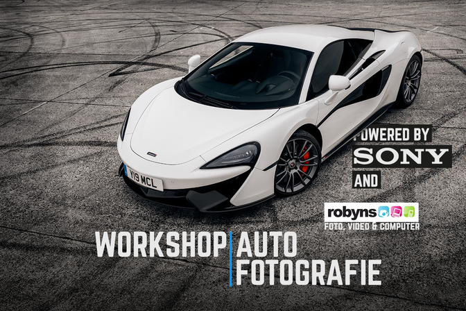 Autofans Workshop Autofotografie ism SONY