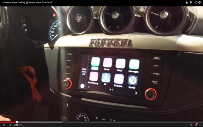 Demo video: Zo werkt de Apple CarPlay