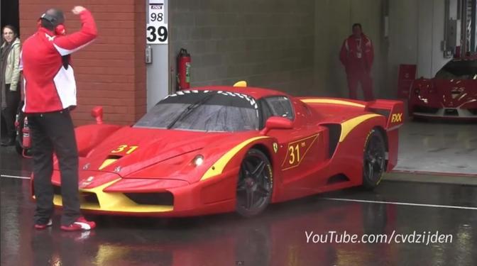 Ferrari FXX youtube