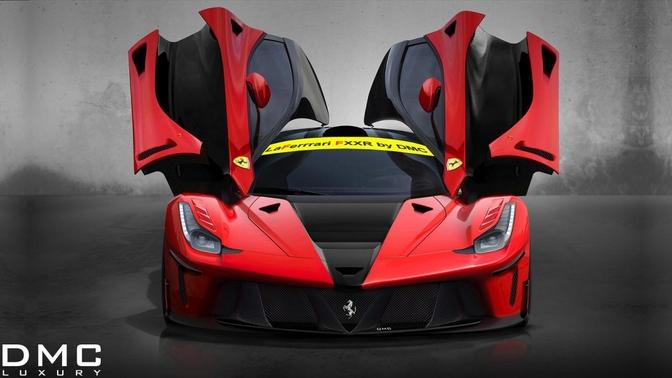 DMC La Ferrari FXXR render