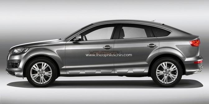 Audi Q render