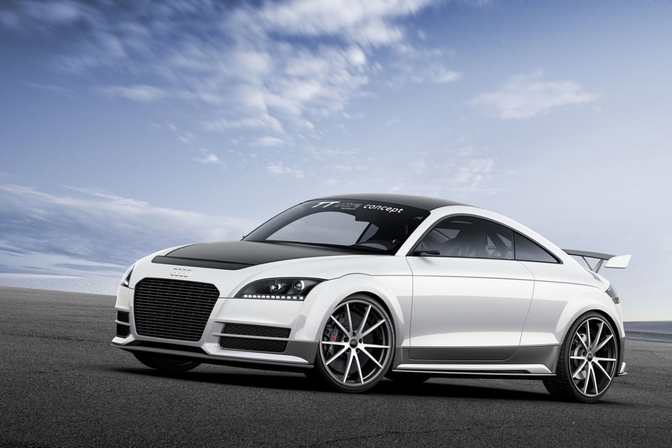 Audi TT ultra Quattro is een TT op dieet