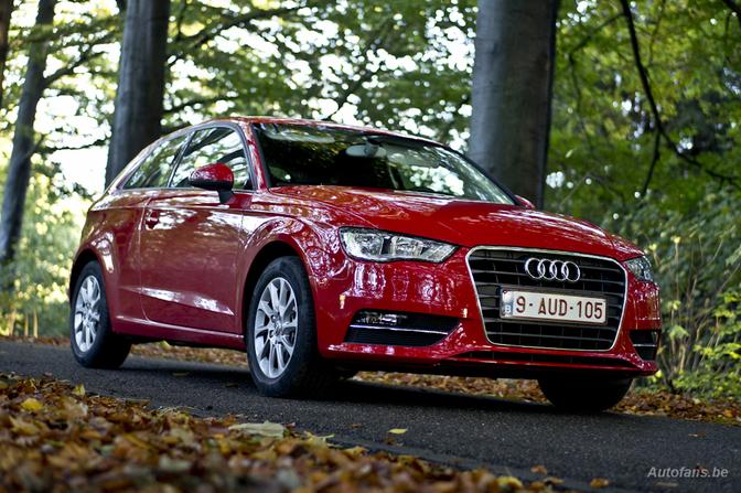 Audi A3 1.4 tfsi 2012 rijtest