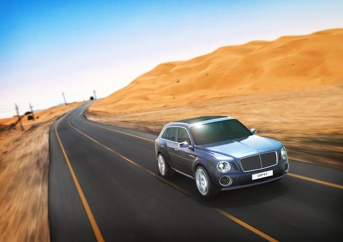 Bentley exp 9 concept