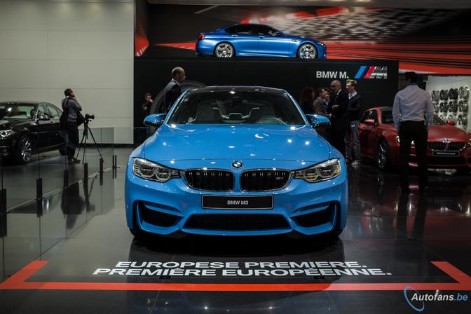 BMW M3 & M4 in Brussel