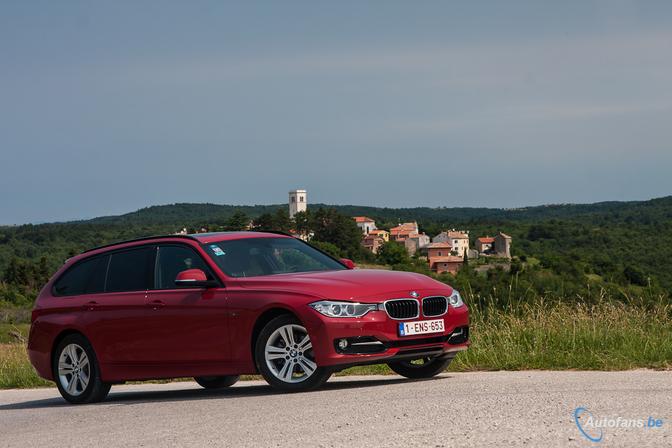 BMW 318d Touring in Kroatië