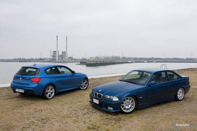 Rijtest: BMW M135i ontmoet BMW E36 M3 3.2 [video]
