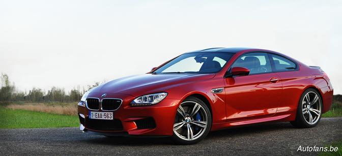 Rijtest BMW M6 Coupé