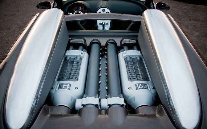 bugatti veyron grand sport engine