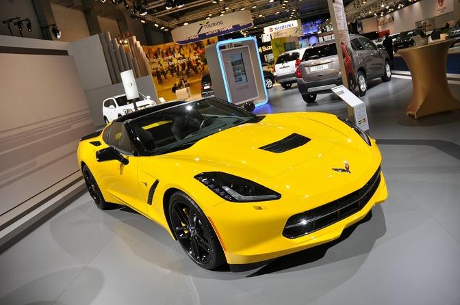 Chevrolet Corvette C7 brussel 2014