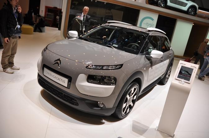 Live in Genève 2014: Citroën C4 Cactus