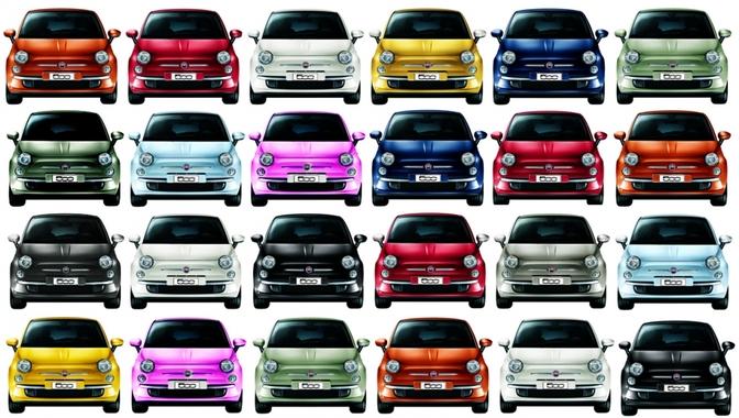 Fiat 500 1 miljoen