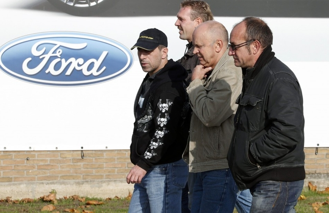 Ford closes UK plant