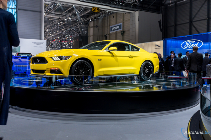 Live in Genève 2014: Ford Mustang (2014)