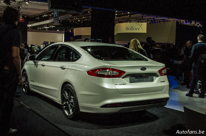 Ford New Mondeo Paris 2012