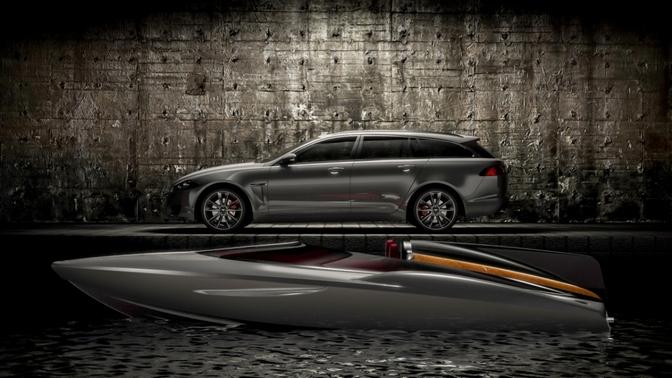 Jaguar XF SportBrake SpeedBoat concept