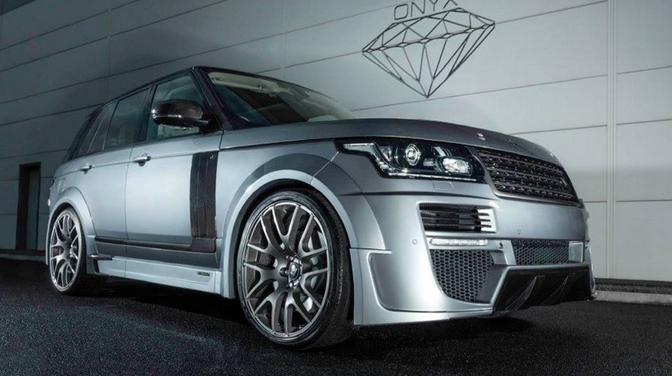 Onyx Range Rover Aspen Ultimate Series