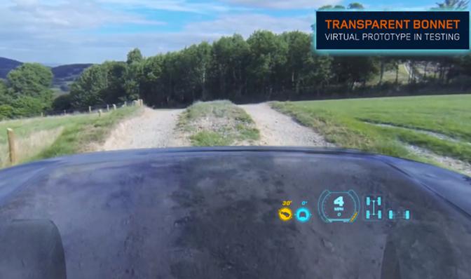 Transparent Hood virtual imaging