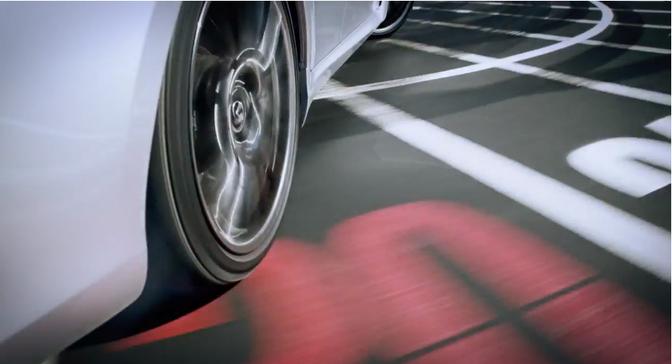 Lexus-ISF-drifiting-Roulette