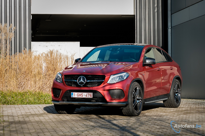 Rijtest: Mercedes GLE 450 4matic AMG Coupé