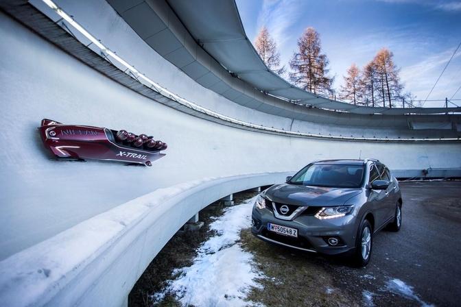 Nissan X-trail bobslee 2016