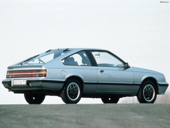 Vergeten Auto #76: Opel Monza