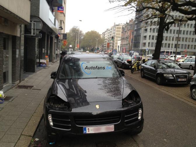 Porsche cayenne koplampen