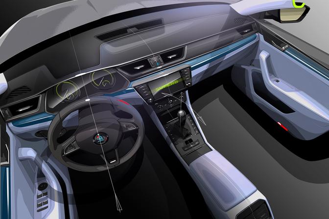 skoda-superb-2015-interior-render