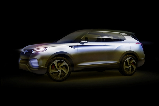 Ssang Yong XLV concept