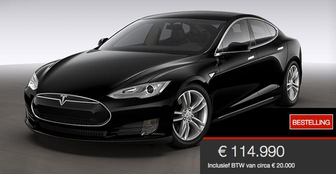 Tesla Model S P85D Kost 114990 Euro Autofans