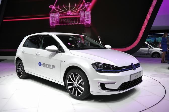 Volkswagen e-Up (IAA)