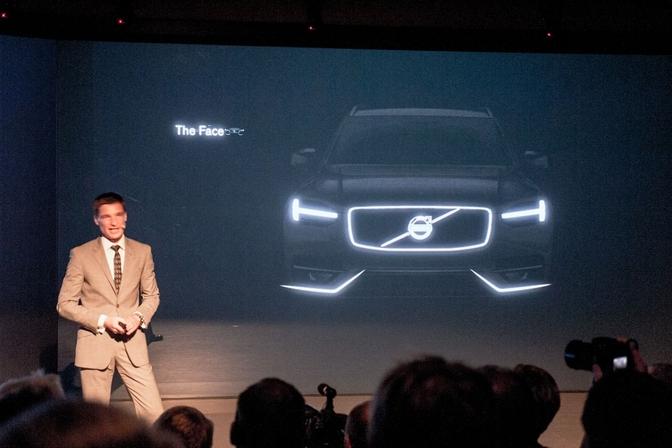 Teaser Volvo XC90 2014