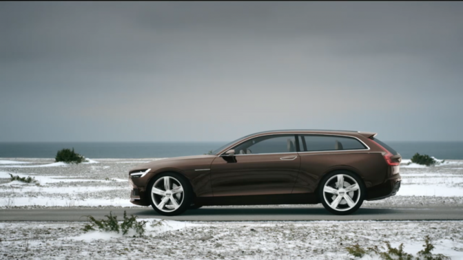 Volvo's Concept Estate