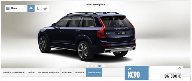 Configurator Hoe Ziet Jouw Ideale Volvo Xc90 Eruit Autofans