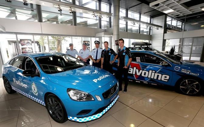 Volvo Polestar Australian police