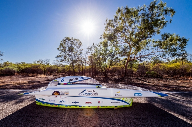 punch powertrain solar team punch one