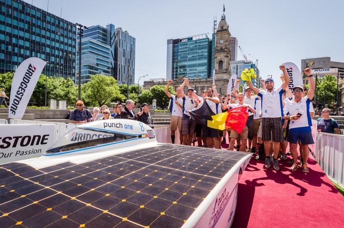 Punch Powertrain Solar Team - WSC 15