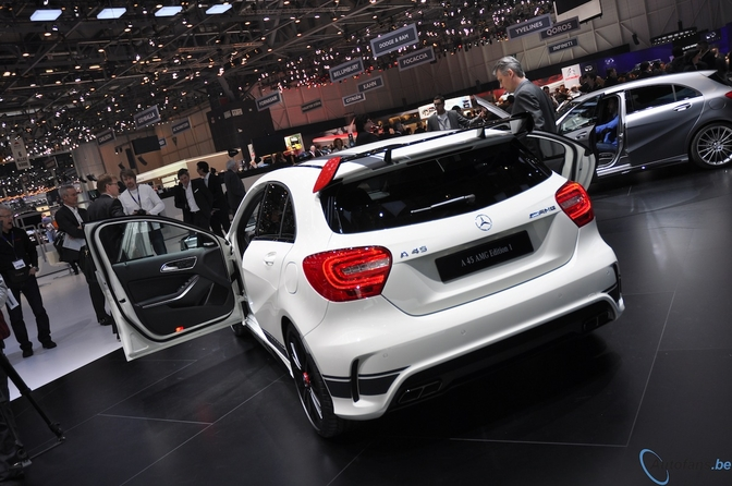 Live in Genève 2013 Mercedes-Benz A45 AMG