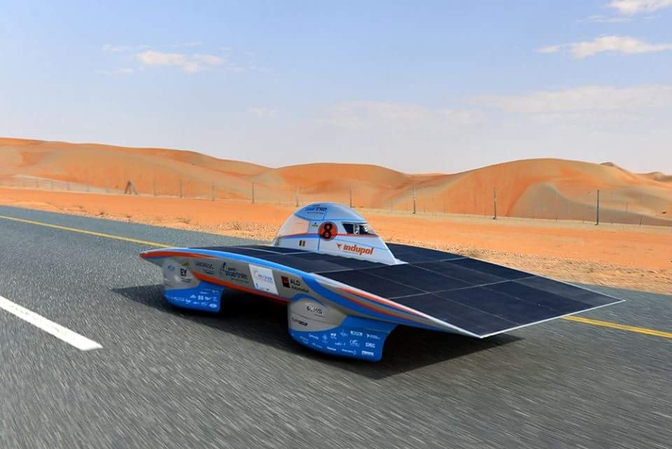 solar team punch powertrain abu dhabi adsc