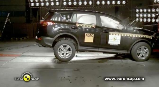 EuroNCAP doet weer vier botsingen na