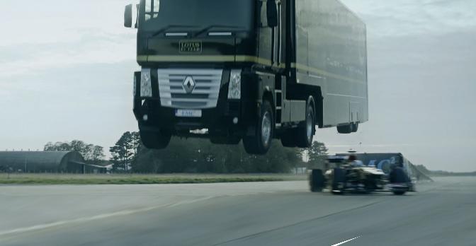 lotus-f1-truckjump
