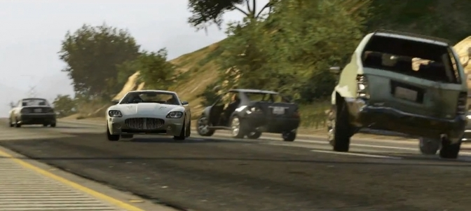 GTA IV cars wagens